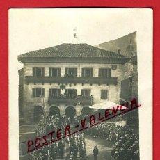 Postales: POSTAL LESAKA 1924 , PLAZA ZAHARRA , FOTOGRAFICA , ORIGINAL , P97198. Lote 46408110