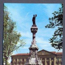 Postales: PAMPLONA. MONUMENTO A LOS FUEROS DE NAVARRA. Lote 46460545