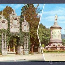 Postales: PAMPLONA. JARDINES DE LA TACONERA Y MONUMENTO A GAYARRE. Lote 46460619