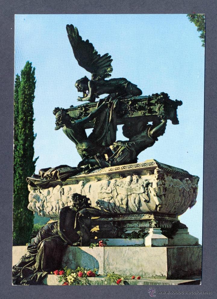 RONCAL. MAUSOLEO A GAYARRE. OBRA DE BENLLIURE (Postales - España - Navarra Moderna (desde 1.940))