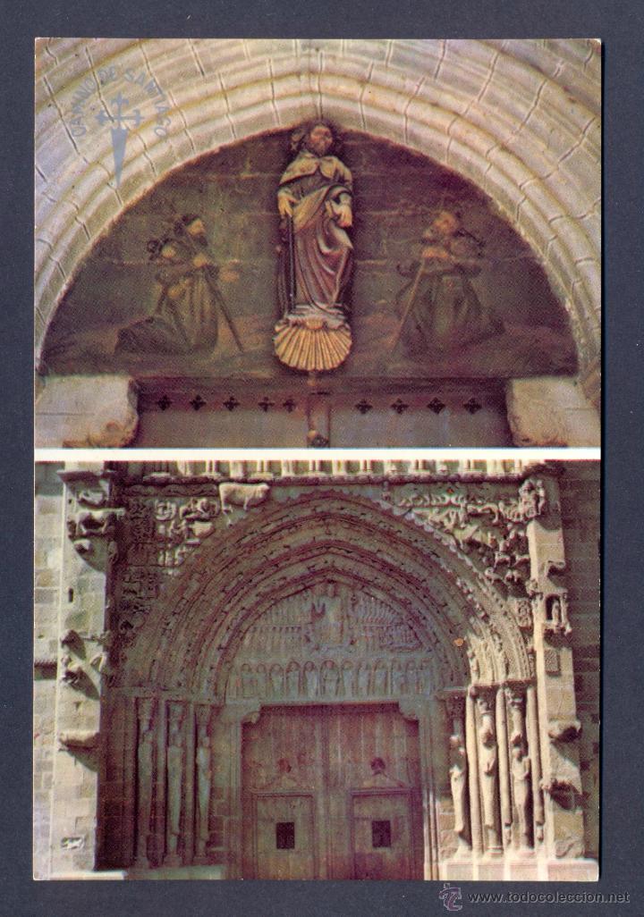 SANGÜESA. PORTICO (Postales - España - Navarra Moderna (desde 1.940))