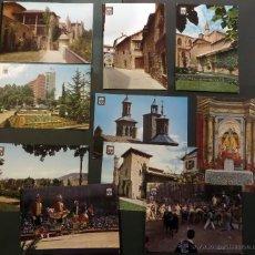 Postales: PAMPLONA, LOTE DE 10 POSTALES SIN CIRCULAR DE LOS AÑOS 60.. Lote 46831955