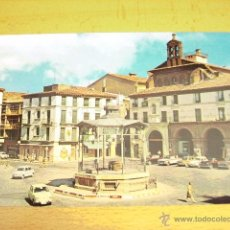Postales: TUDELA ( NAVARRA ) PLAZA DE LOS FUEROS. Lote 47086874