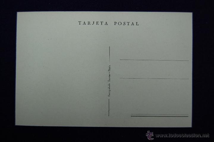 Postales: POSTAL DE RONCESVALLES (NAVARRA). VISTA GENERAL. EDICIONES FOURNIER (VITORIA). AÑOS 40. - Foto 2 - 47125987