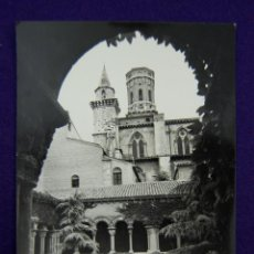 Postales: POSTAL DE TUDELA (NAVARRA). Nº35 CLAUSTROS Y JARDINES DE LA CATEDRAL. ED.PARIS (ZARAGOZA). AÑOS 50.. Lote 47126006