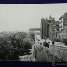 Postales: POSTAL DE PAMPLONA (NAVARRA). Nº26 PASEO DE LA CATEDRAL. EDIC. PARIS (ZARAGOZA). AÑOS 50. Lote 47126046