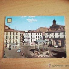 Postales: TUDELA ( NAVARRA ) PLAZA DE LOS FUEROS. Lote 47324659
