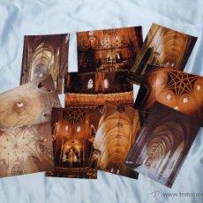 Postales: 10 POSTALES DE LA CATEDRAL DE PAMPLONA (NAVARRA). Lote 47379219