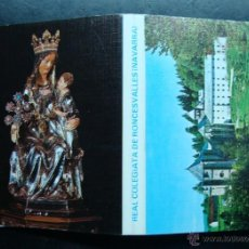 Postales: POSTAL, TIRA, ALBUM,LIBRILLO ACORDEON, REAL COLEGIATA RONCESVALLES, NAVARRA 18 FOTOS. Lote 47582335