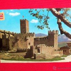 Postales: CASTILLO DE JAVIER - NAVARRA. Lote 48157275