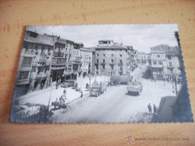 TAFALLA ( NAVARRA ) PLAZA CORRTES Y AVDA. SEVERINO FERNANDEZ (Postales - España - Navarra Moderna (desde 1.940))
