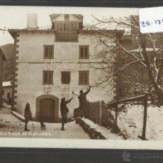 Postales: RONCAL - CASA DE GAYARRE - FOTOGRAFICA - (ZB-1719). Lote 48457152