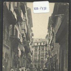 Postales: PAMPLONA - CALLE DE ZAPATERIA - EUSEBIO RUBIO - (ZB-1731). Lote 48457270