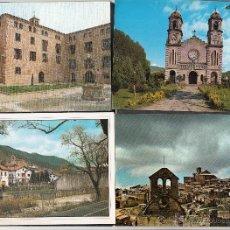 Cartes Postales: 4 POSTALES DE DIVERSAS LOCALIDADES. TULEBRAS. RONCAL. UJUE. ELIZONDO. Lote 48500777