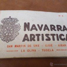Postales: NAVARRA ARTISTICA POSTALES DE TUDELA. Lote 49549037