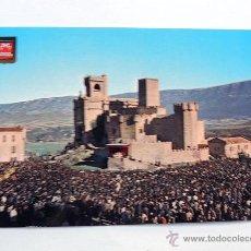 Postales: POSTAL / LA JAVIERADA EN EL CASTILLO DE JAVIER / ED. PIQUE AÑOS 60. Lote 49571886