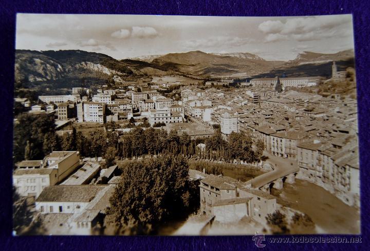 POSTAL DE ESTELLA (NAVARRA). Nº71 VISTA PARCIAL. AÑOS 50. (Postales - España - Navarra Moderna (desde 1.940))