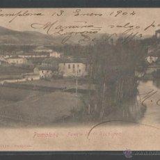 Postales: PAMPLONA - PUENTE DE LA ROCHAPEA 1904 - P8349. Lote 49674428