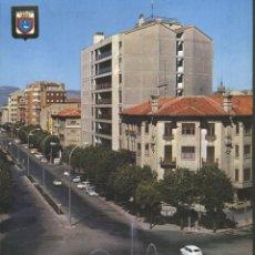 Cartes Postales: PAMPLONA - PLAZA MOLA Y AV. GENERALISIMO. Lote 49782808