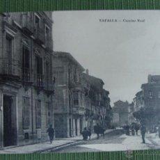 Postales: TAFALLA. CAMINO REAL. VDA. DE J. ABAUNEA.. Lote 50039861
