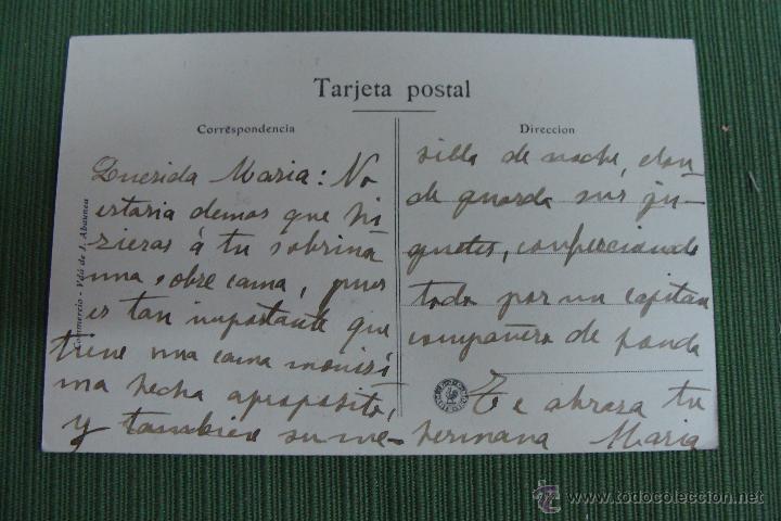 Postales: TAFALLA. CAMINO REAL. VDA. DE J. ABAUNEA. - Foto 2 - 50039861