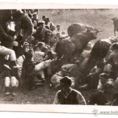 Postales: PAMPLONA. ENCIERRO DE SAN FERMÍN. 1945 DÍA 7. GALLE FOTÓGRAFO. Lote 50076858