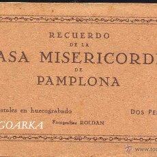 Postales: RECUERDO DE LA CASA MISERICORDIA DE PAMPLONA- LE FALTA UNA POSTAL. Lote 50227256