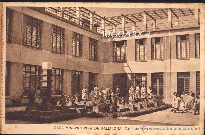 Postales: RECUERDO DE LA CASA MISERICORDIA DE PAMPLONA- LE FALTA UNA POSTAL - Foto 2 - 50227256