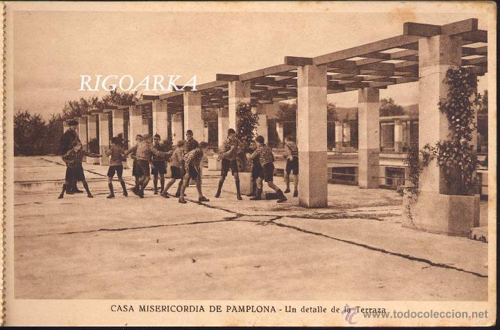 Postales: RECUERDO DE LA CASA MISERICORDIA DE PAMPLONA- LE FALTA UNA POSTAL - Foto 3 - 50227256