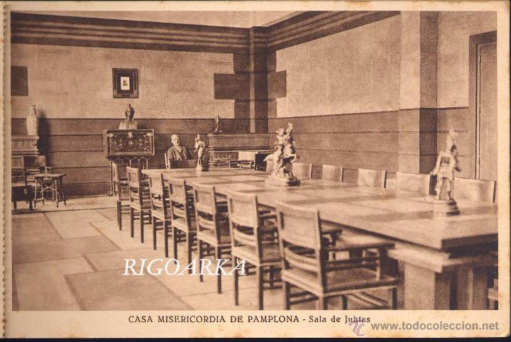 Postales: RECUERDO DE LA CASA MISERICORDIA DE PAMPLONA- LE FALTA UNA POSTAL - Foto 4 - 50227256