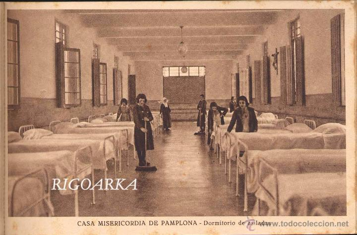 Postales: RECUERDO DE LA CASA MISERICORDIA DE PAMPLONA- LE FALTA UNA POSTAL - Foto 6 - 50227256