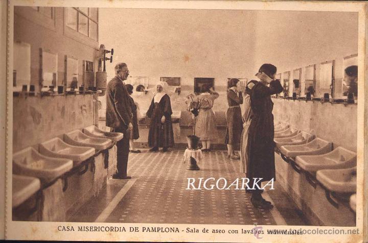 Postales: RECUERDO DE LA CASA MISERICORDIA DE PAMPLONA- LE FALTA UNA POSTAL - Foto 7 - 50227256
