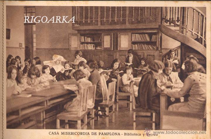 Postales: RECUERDO DE LA CASA MISERICORDIA DE PAMPLONA- LE FALTA UNA POSTAL - Foto 8 - 50227256