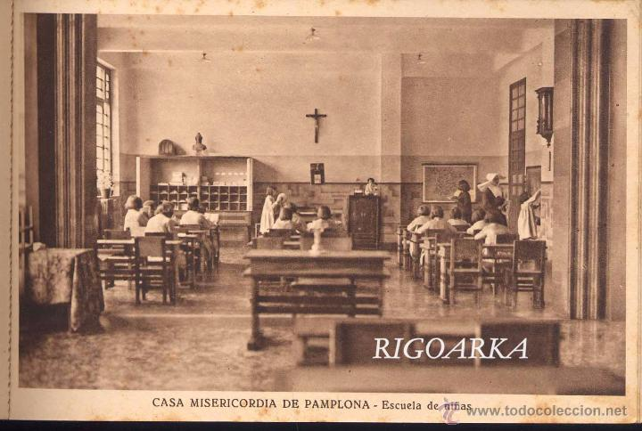 Postales: RECUERDO DE LA CASA MISERICORDIA DE PAMPLONA- LE FALTA UNA POSTAL - Foto 9 - 50227256