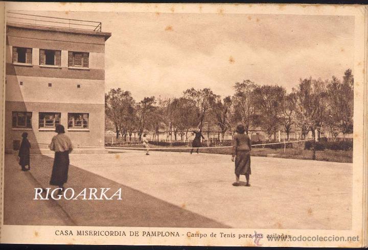 Postales: RECUERDO DE LA CASA MISERICORDIA DE PAMPLONA- LE FALTA UNA POSTAL - Foto 10 - 50227256