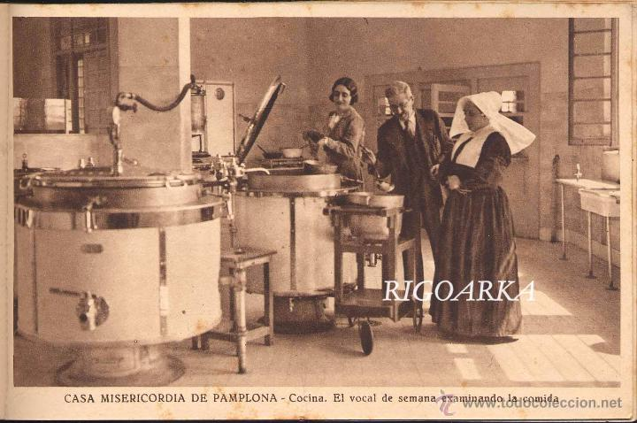 Postales: RECUERDO DE LA CASA MISERICORDIA DE PAMPLONA- LE FALTA UNA POSTAL - Foto 12 - 50227256