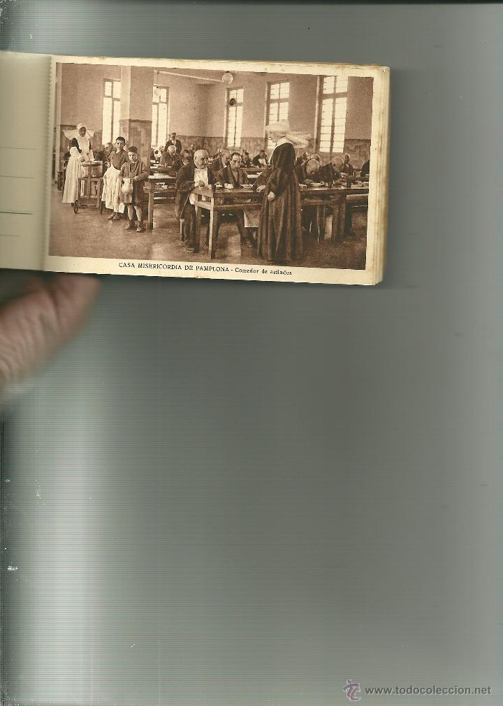 Postales: RECUERDO DE LA CASA MISERICORDIA DE PAMPLONA- LE FALTA UNA POSTAL - Foto 13 - 50227256