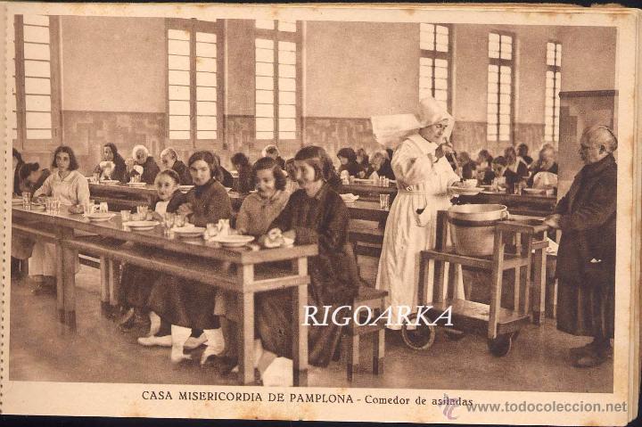 Postales: RECUERDO DE LA CASA MISERICORDIA DE PAMPLONA- LE FALTA UNA POSTAL - Foto 14 - 50227256