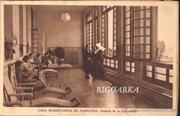 Postales: RECUERDO DE LA CASA MISERICORDIA DE PAMPLONA- LE FALTA UNA POSTAL - Foto 15 - 50227256