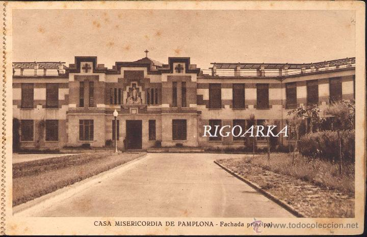 Postales: RECUERDO DE LA CASA MISERICORDIA DE PAMPLONA- LE FALTA UNA POSTAL - Foto 16 - 50227256
