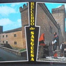 Cartes Postales: (34974)POSTAL SIN CIRCULAR,VARIAS VISTAS DEL MUNICIPIO,SANGÜESA/ZANGOZA,NAVARRA,NAVARRA,CONSERVACION. Lote 50544343
