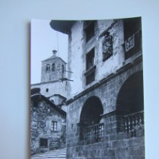 Postales: POSTAL FOTOGRÁFICA RONCAL. NAVARRA. CASA DE LOPEZ, AL FONDO IGLESIA. ED.SICILIA. SIN CIRCULAR. Lote 50589563