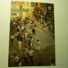 Postales: POSTAL PAMPLONA .-FIESTAS ENCIERRO. Lote 51059868