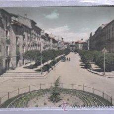 Postales: TARJETA POSTAL DE TUDELA, NAVARRA - PASEO HERRERIAS. 48. EDICIONES SICILIAS. Lote 51705070