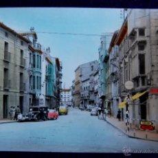 Postales: RARA POSTAL COLOREADA DE TUDELA. CALLE GAZTAMBIDE. Nº26. (NAVARRA). EDICIONES PARIS. COCHES DE EPOCA. Lote 51764121