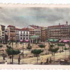 Postales: P- 3327. POSTAL DE PAMPLONA. PLAZA DEL CASTILLO. Nº 17. ED. ARRIBAS.. Lote 52813938
