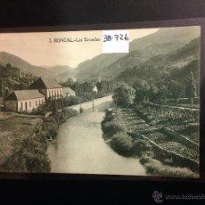 Postales: RONCAL - 3 - LAS ESCUELAS - ED· F. DE LAS HERAS - (38726). Lote 52823582