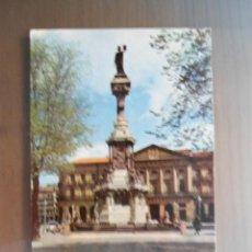 Postales: ANTIGUA POSTAL PAMPLONA - MONUMENTO A LOS FUEROS - NUM 9 - FOTOCOLOR. Lote 52883996