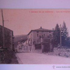 Postales: ANTIGUA POSTAL : CALLE DEL PROGRESO. ESPINOSA DE LOS MONTEROS. BURGOS. FOT MARTÍNEZ REVUELTA, Nº 7. Lote 52919286
