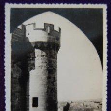 Postales: POSTAL DE OLITE (NAVARRA). CASTILLO. AÑOS 50.. Lote 53047064